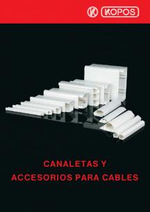 Canaletas y sorios para cables