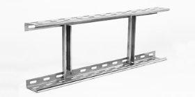 Prolongación de escaleras de cable fabricadas en acero inoxidable