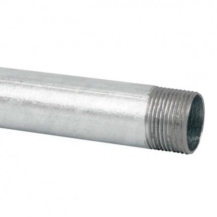 6040 ZN F - ocelová trubka závitová žárově zinkovaná (EN)