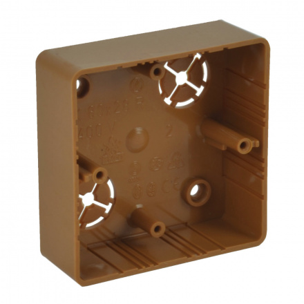 LK 80X28R/1 SD - krabice přístrojová