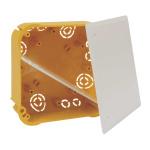 KO 110/L ST - krabice rozvodná s víčkem V 110 L a přepážkou P 110 L