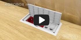 Embedded thumbnail for Installation instruction multipurpose wiring box KOPOBOX mini L